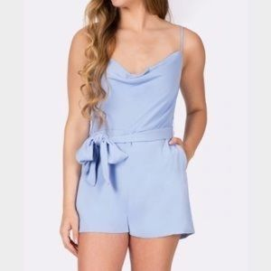 Keepsake light blue romper